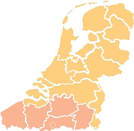 Kies de provincie